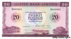 20 Pounds IRLANDE DU NORD  1983 P.328 NEUF