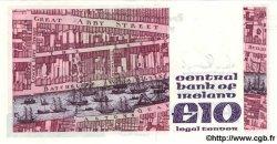 10 Pounds IRLANDE  1989 P.072c SPL