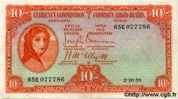 10 Shillings IRLANDE  1939 P.001B TTB