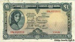 1 Pound IRLANDE  1939 P.002B pr.TTB
