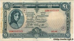 1 Pound IRLANDE  1942 P.002C