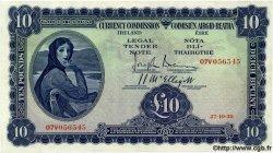 10 Pounds IRLANDE  1938 P.004B TTB