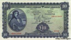 10 Pounds IRLANDE  1942 P.004Cb TTB