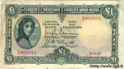 1 Pound IRLANDE  1928 P.002A TB+ à TTB