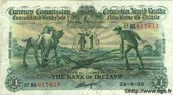 1 Pound IRLANDE  1932 P.008a TTB+