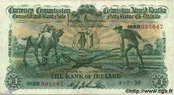 1 Pound IRLANDE  1939 P.08b TTB+