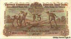5 Pounds IRLANDE  1931 P.009a TTB+