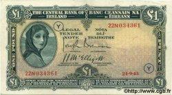 1 Pound IRLANDE  1943 P.002D TTB