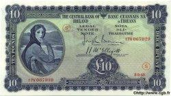 10 Pounds IRLANDE  1943 P.004D SPL