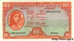 10 Shillings IRLANDE  1951 P.056b SPL