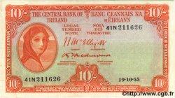 10 Shillings IRLANDE  1955 P.056c SUP