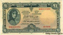 1 Pound IRLANDE  1955 P.057c TTB+