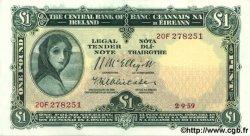 1 Pound IRLANDE  1959 P.057d SPL+