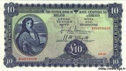 10 Pounds IRLANDE  1949 P.059b NEUF