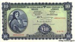 10 Pounds IRLANDE  1976 P.066d pr.NEUF