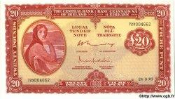 20 Pounds IRLANDE  1976 P.067c NEUF