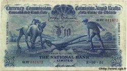 10 Pounds IRLANDE  1931 P.028 TB+