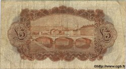 5 Pounds IRLANDE  1939 P.051b pr.TB