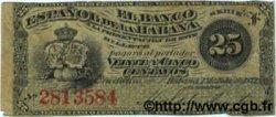 25 Centavos CUBA  1872 P.031a TTB