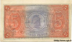 5 Pesos CUBA  1891 P.039 SUP+
