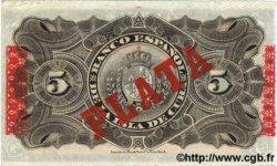 5 Pesos CUBA  1896 P.048b TTB+