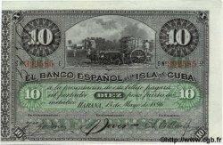10 Pesos CUBA  1896 P.049c SPL