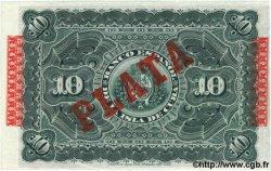 10 Pesos CUBA  1896 P.049d SPL