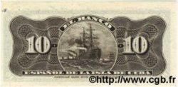 10 Centavos CUBA  1897 P.052 SPL