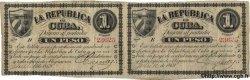1 Peso CUBA  1869 P.055c TB+