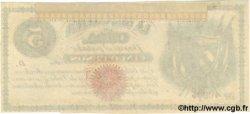 5 Pesos CUBA  1869 P.056a SPL