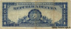 1 Peso CUBA  1934 P.069a TB