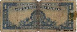 1 Peso CUBA  1936 P.069b AB