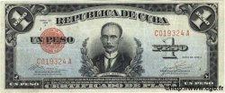 1 Peso CUBA  1936 P.069c TTB