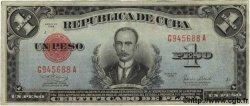 1 Peso CUBA  1938 P.069d TTB