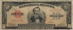 10 Pesos CUBA  1936 P.071c B