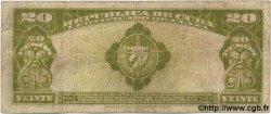 20 Pesos CUBA  1938 P.072d TB