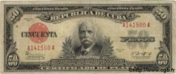 50 Pesos CUBA  1943 P.073e TB+
