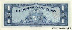 1 Peso CUBA  1960 P.077b SPL