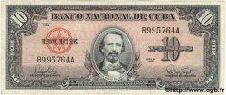10 Pesos CUBA  1960 P.079b TTB