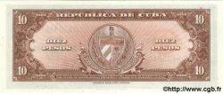 10 Pesos CUBA  1960 P.079b NEUF