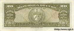 20 Pesos CUBA  1949 P.080a SUP