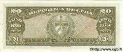 20 Pesos CUBA  1949 P.080a pr.NEUF