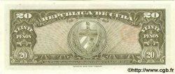 20 Pesos CUBA  1958 P.080b pr.NEUF