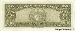 20 Pesos CUBA  1960 P.080c pr.NEUF