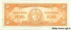 50 Pesos CUBA  1958 P.081b pr.NEUF
