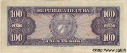 100 Pesos CUBA  1950 P.082a TTB+
