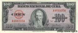 100 Pesos CUBA  1950 P.082a pr.NEUF