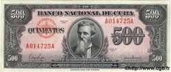 500 Pesos CUBA  1950 P.083 SUP+