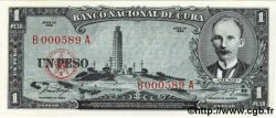 1 Peso CUBA  1956 P.087a NEUF