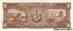 10 Pesos CUBA  1958 P.088b SPL